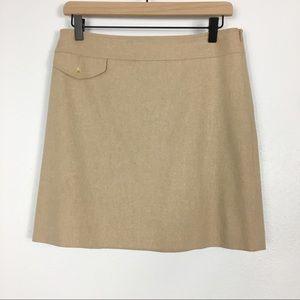 Banana Republic Camel Color Wool/Cashmere Skirt